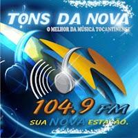 ouvir a Rádio Nova 104 FM 104,9 ao vovo e online Gurupi TO