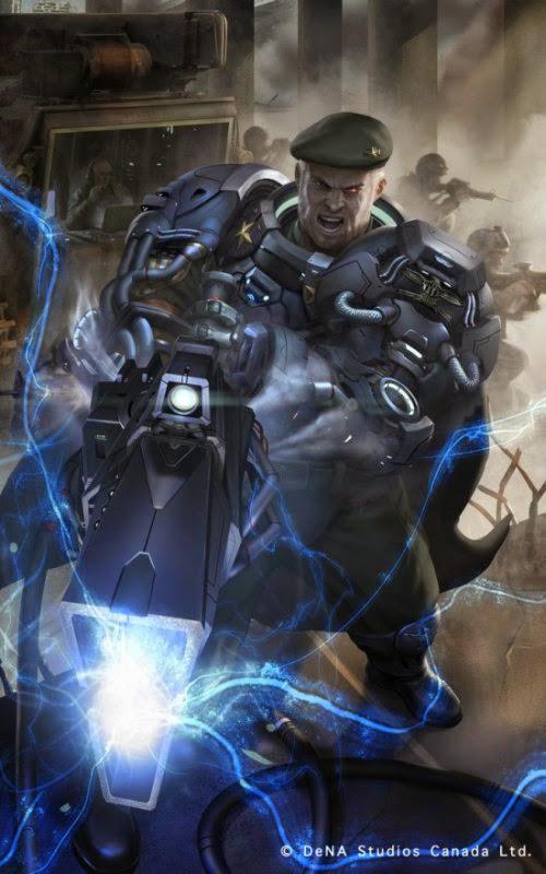 Chris Ng Fhze Yang chrisnfy85 deviantart ilustrações ficção científica soldados futuristas card games