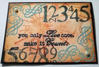 Visible Image stamp Time Sparkle Challenge
