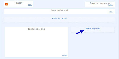 blogger-diseño-añadir-gadget