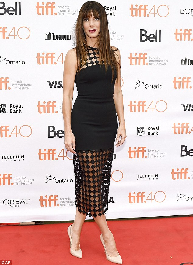 Sandra Bullock at the Toronto International Film festival 2015