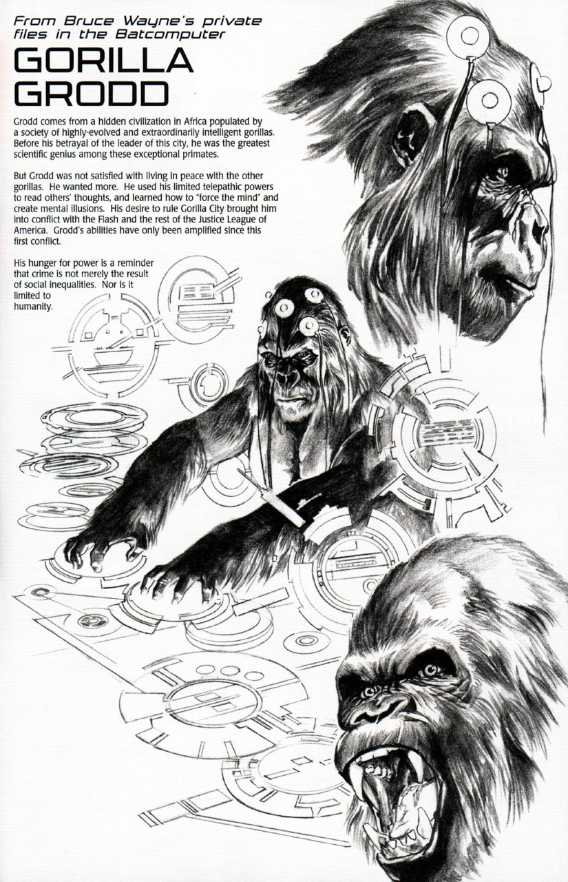 The Dork Review From Bruce Waynes Private Files By Alex Ross