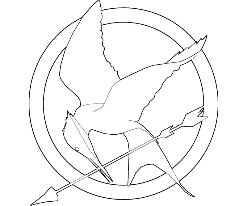 hunger games coloring pages printable - photo#2