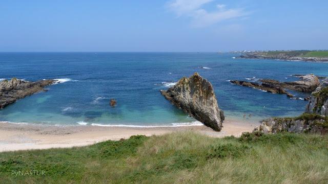 Playa A Mexota - Tapia de Casariego - Asturias