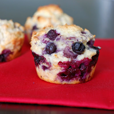 ... There's always room for dessert!: Blueberry muffins with Greek yogurt