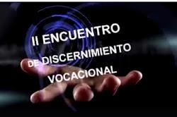 II Encuentro de Discernimiento Vocacional CVX-AyC. 13-15 de enero de 2017