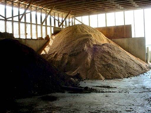 Working In Sawdust ~ Temperate climate permaculture organic fertilizers sawdust