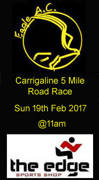 Carrigaline 5 mile road race in Cork