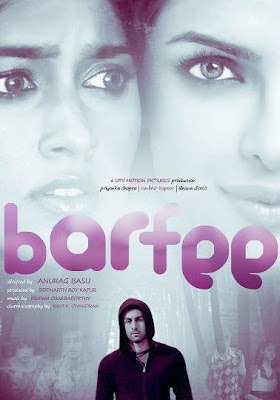 Barfee is an upcoming Hindi romantic comedy film, directed by Anurag Basu, and starring Ranbir Kapoor, Priyanka Chopra and Ileana D'Cruz