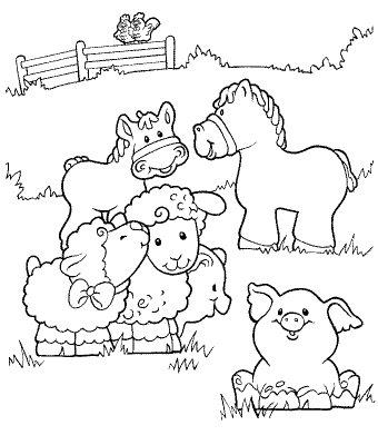 Dibujos De Animales De La Granja Para Colorear Imprimir Y Pintar