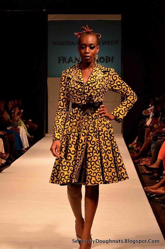 Nigeria Fashion Week Runway 2011 Pictures Frank Osodi
