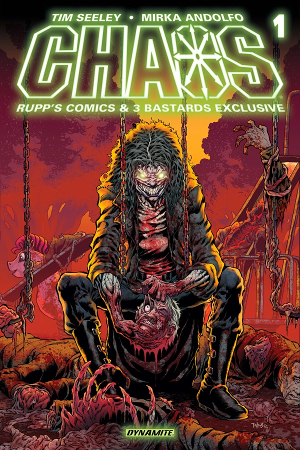 Chaos! #1 Cover is Ready to be Unleashed
