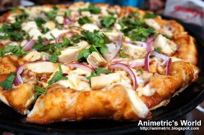 Texas BBQ Chicken Pizza at Shakey's USA