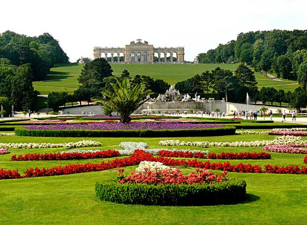 Palace and Gardens of Schonbrunn