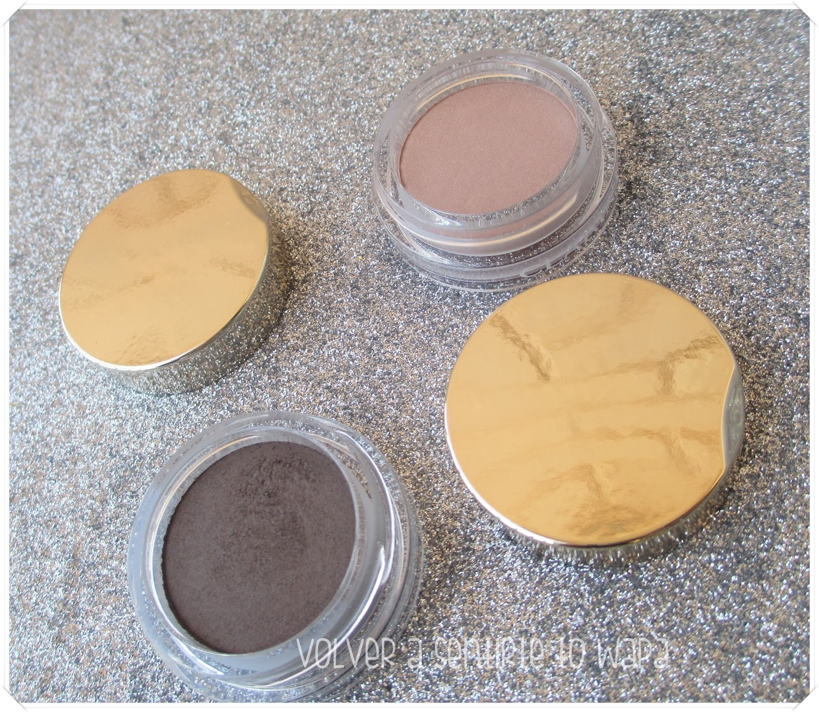 2 sombras en crema con textura polvo: Ombre Matte de Clarins