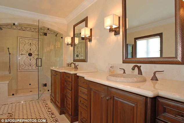 Picture of bathroom with shower