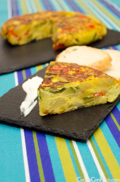 Tortilla Campera o Campesina - Receta