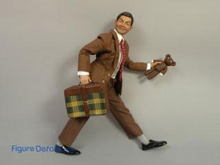 Boneka Mr.Bean dengan Teddy Bear