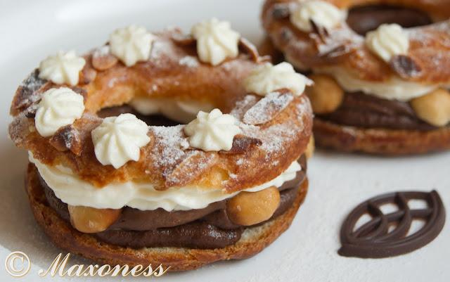 """Десерт """"Париж - Брест"""" с шоколадом и пралине от Уильяма Кёрли. Французская кухня"""