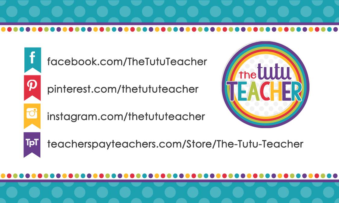 Designs By Kassie: Tutu Teacher | business card