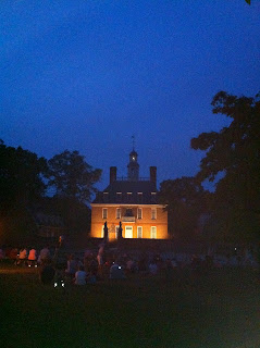 Nightlife in Colonial Williamsburg