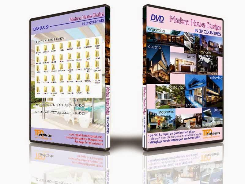 DVD Desain Rumah Modern di 39 Negara di seluruh dunia