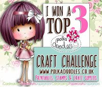 Polkadoodles Crafting Challenge blog