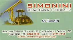 SIMONINI Terraplenagem e Perfuratriz