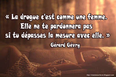 Citation sur drogue