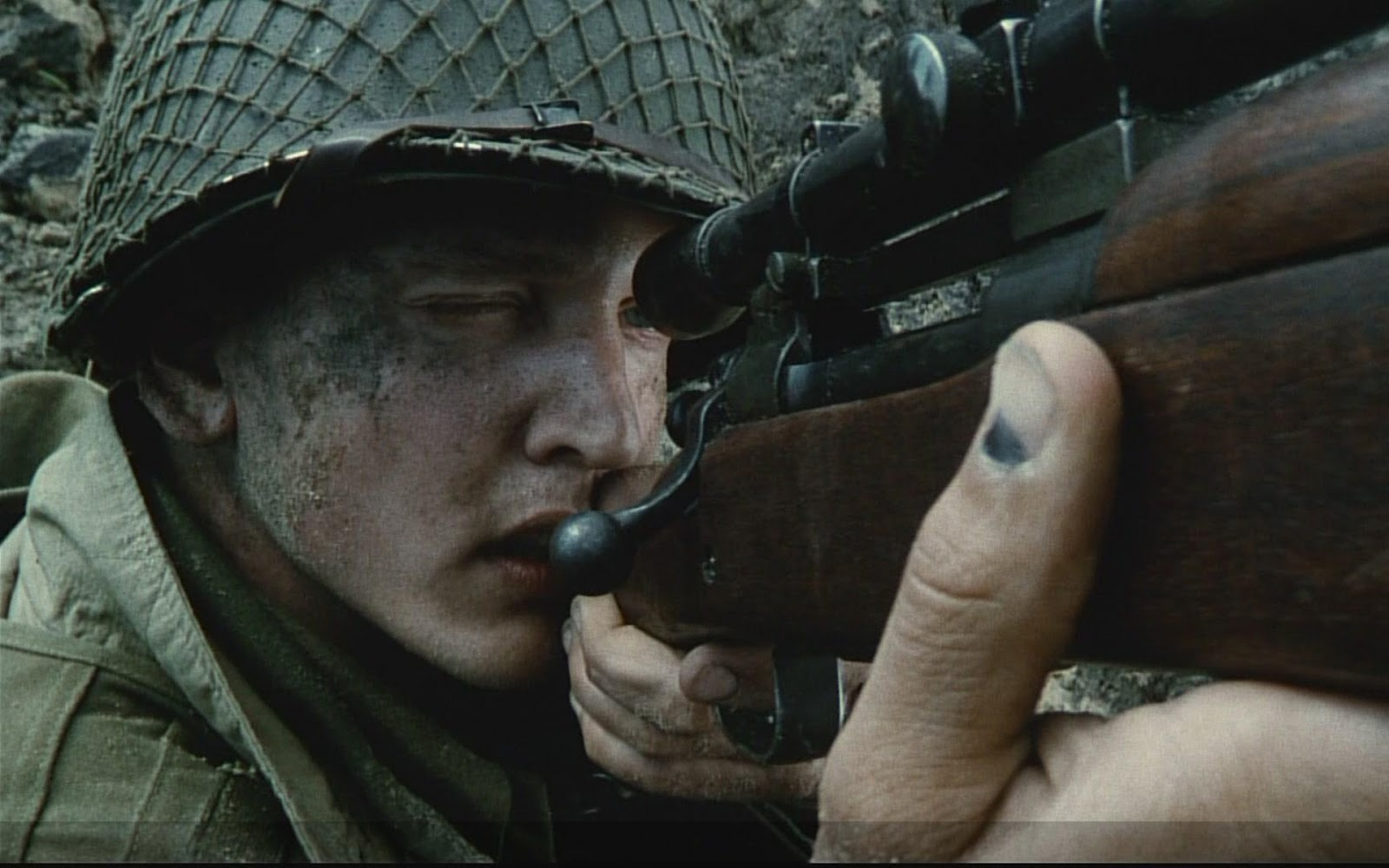 a review of the world war 2 movie saving private ryan Reviews counted: 132 saving private ryan videos 2:09 saving private ryan : trailer 1 view all videos (1) movie info steven spielberg directed this powerful, realistic re-creation of wwii's d-day invasion and the immediate aftermath the story opens with a prologue in which a veteran brings his.