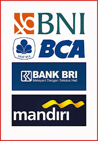 Cash pay melalui Transfer BANK