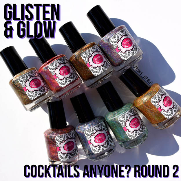 Glisten & Glow Cocktails Anyone Round 2 swatches