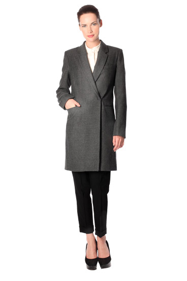 french connection classic twill coat