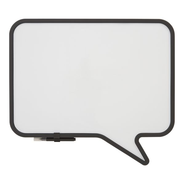 dry erase board, word bubble, looks for less, Crate and Barrel dry erase board, DIY dry erase board