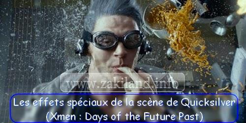 Les effets spéciaux de la scène de Quicksilver (Xmen : Days of the Future Past)