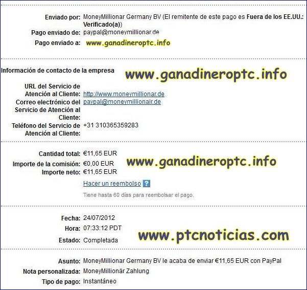Money Millionar Paga €2 Por Registros Pago+de+moneymillionar