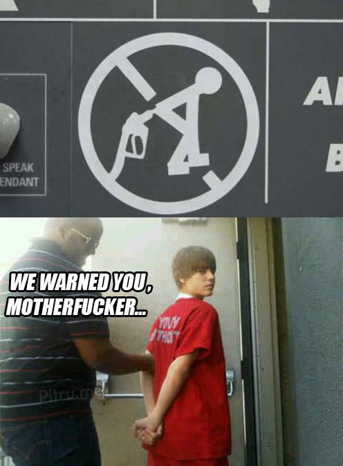 We Warned You JB!