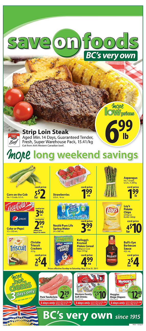 Save On Foods Darrels Deals