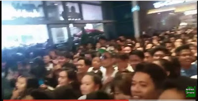 AlDub fans go wild at the mall
