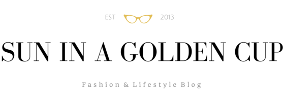 Sun In a Golden Cup | Fashion and Lifestyle Blog in Vietnam