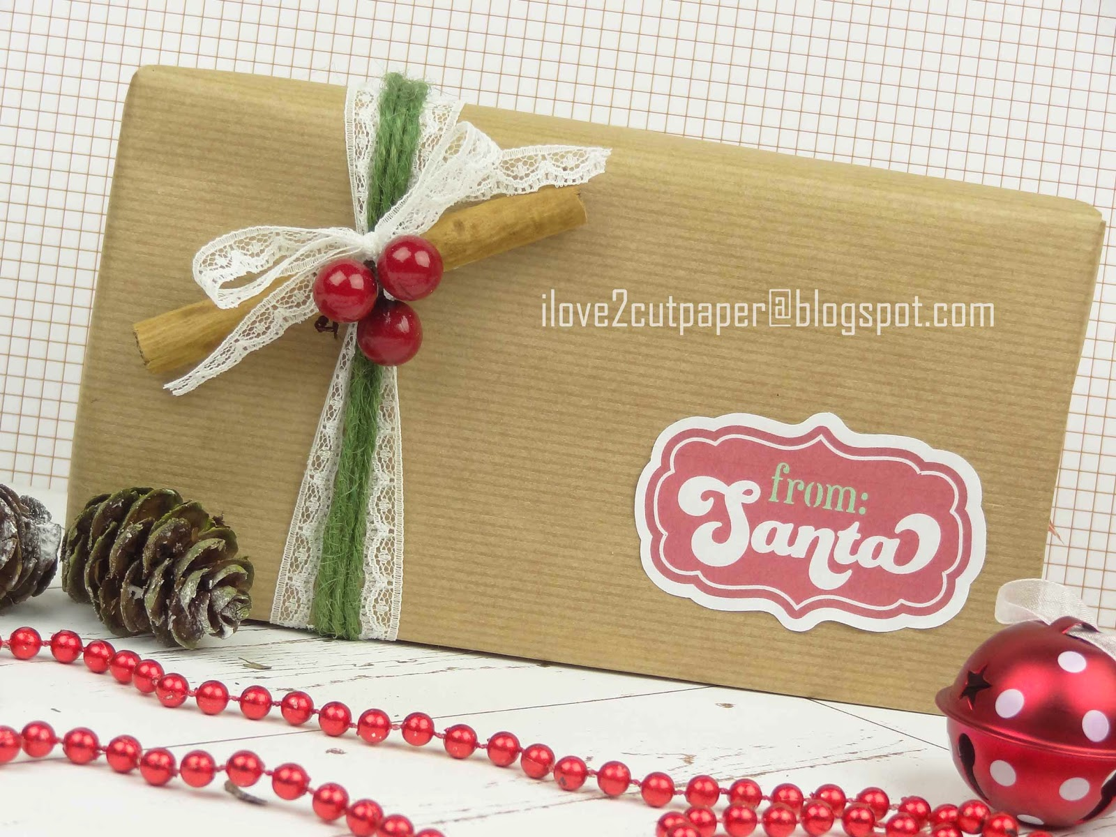 Gift Wrapping using your electronic cutting machine