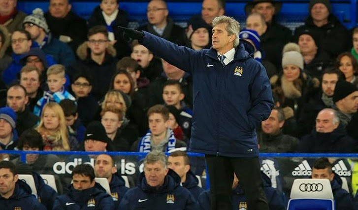 Manuel Pellegrini not happy with a point