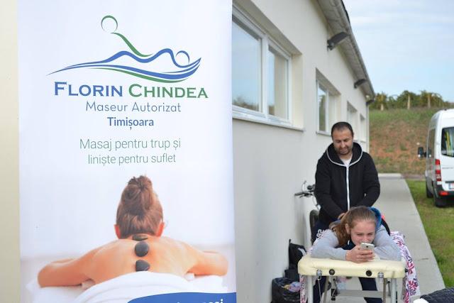 Florin Chindea, maseur oficial la Petrovaselo Trail Run - Ediţie Dietetică fără Gulaş. Masaj din Timişoara la Petrovaselo