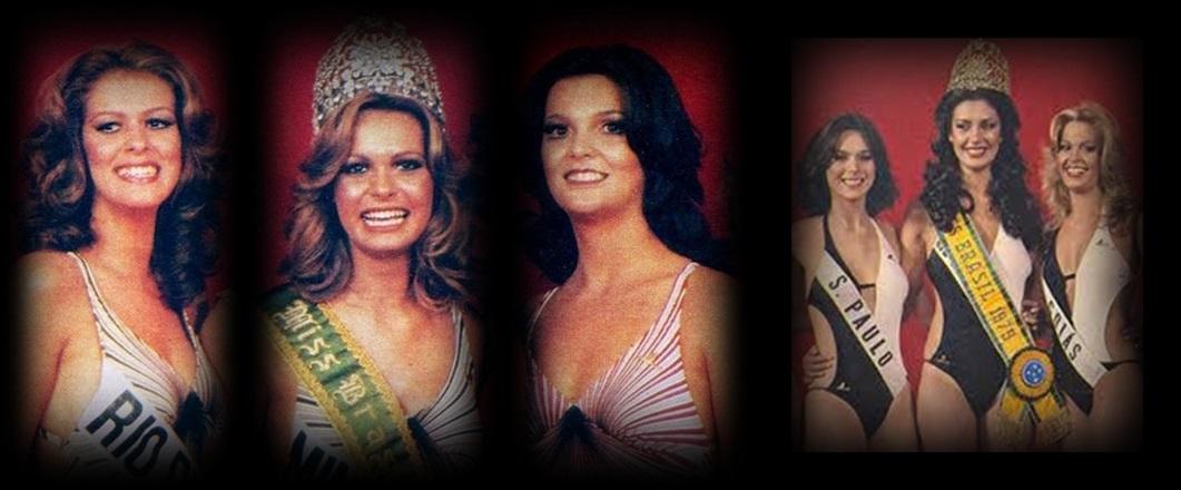 MISS UNIVERSO BRASIL TOP TRES 1978 E 1979