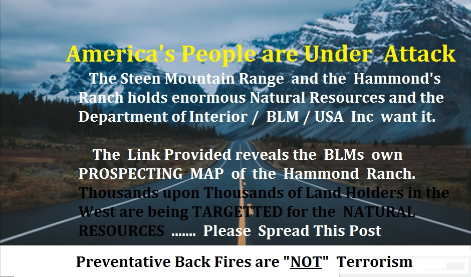 Rico realty the looted trillions negligence of letting a back fire get out of hand is not terrorism and fact is they were not found guilty of terrorism only unlawfully burning sciox Gallery
