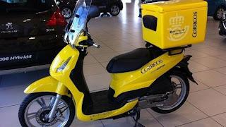 nuevas motos de Correos