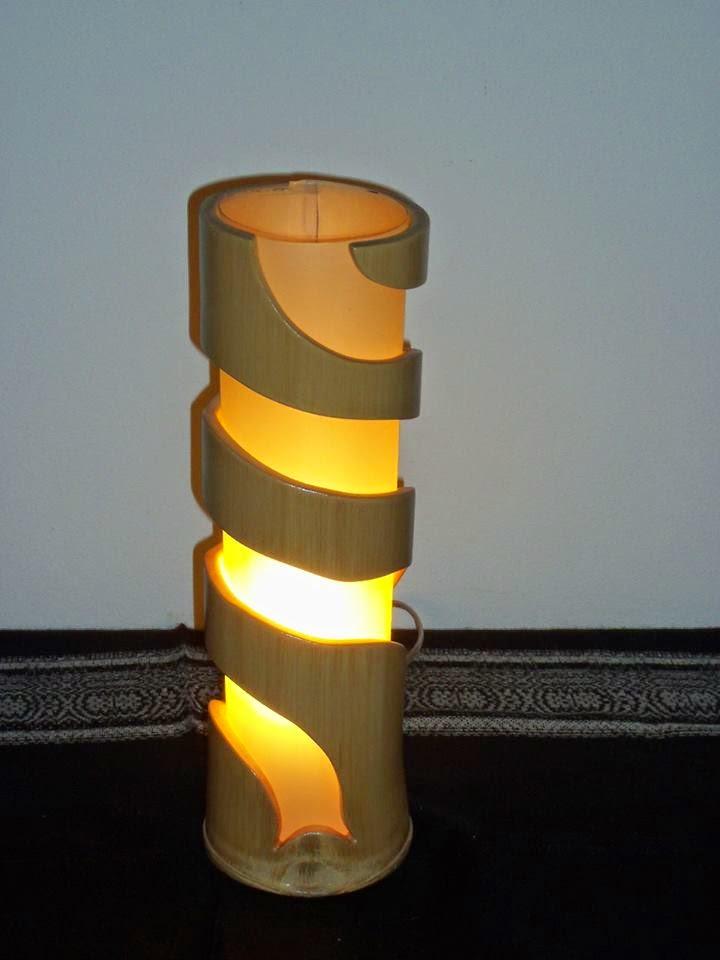 Artesanato Em Florianopolis Sc ~ Fika a Dika Por um Mundo Melhor Luminárias em PVC e Bambu