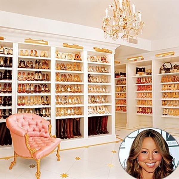 closet - wardrobe - roupas - quarto - decoração - mariah carey