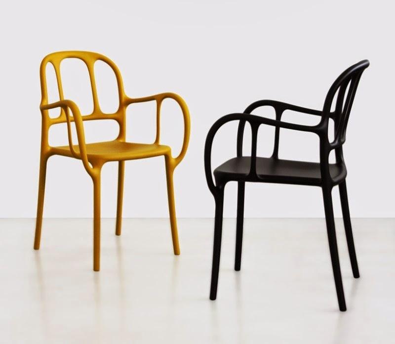 Jaime Hayón diseña una silla en plástico para Magis