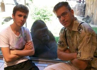badass gorilla face